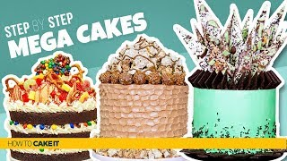 3 Sweet Candy MEGA CAKES | Delicious Treat  Inspired CAKES | How To Cake It | Yolanda Gampp
