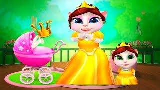 МОЯ ГОВОРЯЩАЯ АНДЖЕЛА  Принцесса кошка и котята Мультик про котиков My talking Angela
