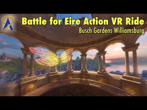 Battle for Eire Action VR Ride at Busch Gardens Williamsburg