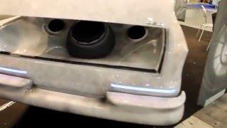 Mercedes completamente verniciata color marmo -  al Tuning Shoiw di Roma