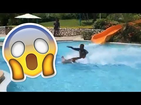 WATER SLIDE Viral Video- Is It Fake?!  | What