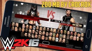 RELEASED ! WWE 2K16 PSP by CrocoX1 + Download Link Best Ever Mod
