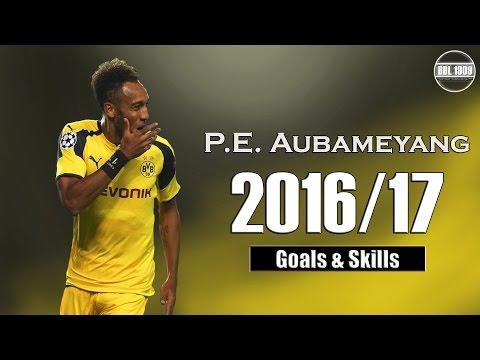 Pierre-Emerick Aubameyang ★ Goals & Skills | 2016/17