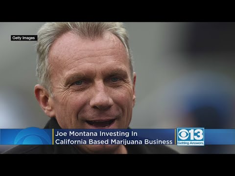 DZL - Joe Montana is getting in to the WEED business.
