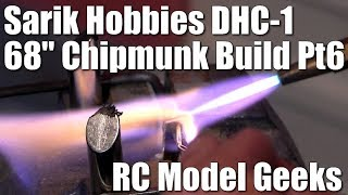 "Sarik Hobbies Dennis Bryant 68"" DHC-1 Chipmunk Build Pt6 RC Model Geeks"