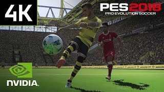 Pro Evolution Soccer 2018 with NVIDIA Ansel - Capture the beautiful game from any angle