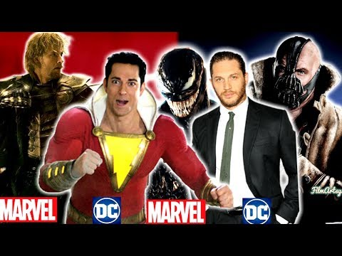 Actors Who Appeared in Both Marvel and DC Movies Ft. Tom Hardy & Ryan Reynolds - 동영상
