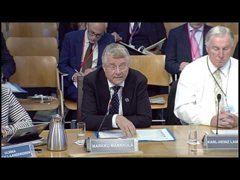 Culture, Tourism, Europe and External Relations Committee - Scottish Parliament: 22 June 2017