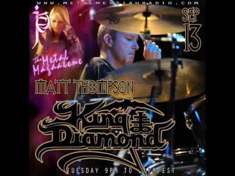 Matt Thompson of King Diamond Interview