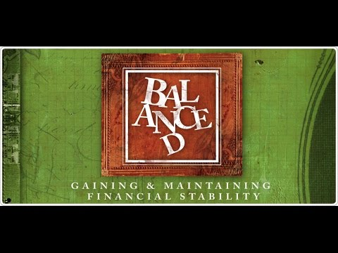 Balanced (Part 1) - Opening the Books - ANDY STANLEY