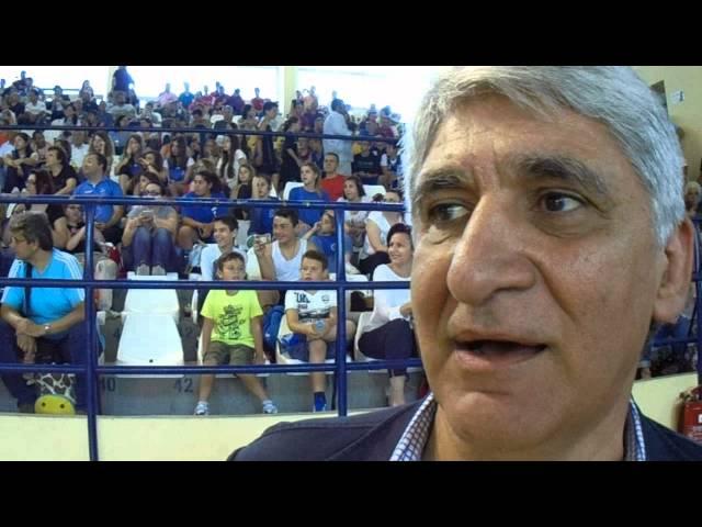 Video | ΠΑΝΑΓΙΩΤΗΣ ΓΙΑΝΝΑΚΗΣ στην εκδήλωση του All Star Game στο ΔΑΚ Γλυφάδας