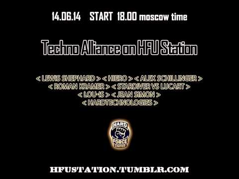 Techno Alliance on Hard Force United /Russia,Moscow/ Guest : Lewis Shephard