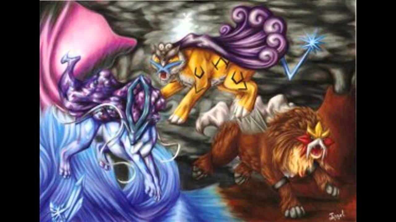 Pokemon Crystal - Vs Entei, Raikou & Suicune (Re ...