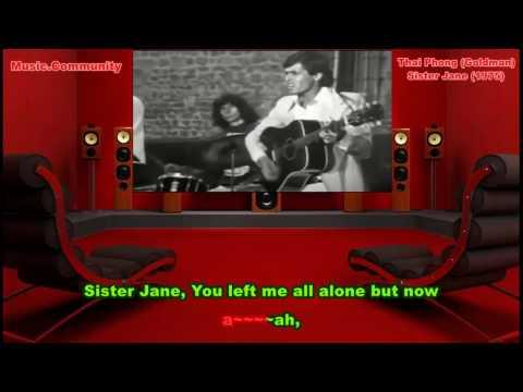 Karaoke - Thai Phong (JJ.Goldman) - Sister Jane (1975)