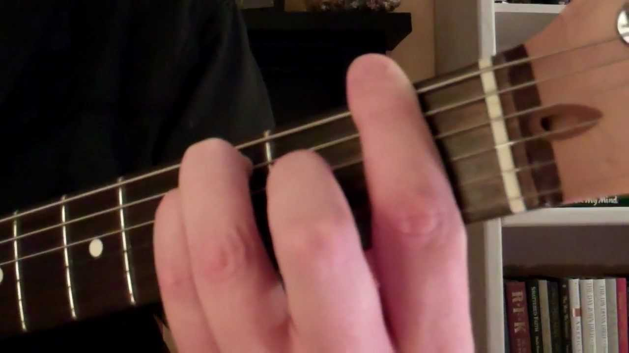 How To Play The F Major Chord On Guitar Youtube
