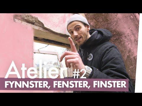 Atelier bauen Teil 2 – Das geheime Fenster   Kliemannsland