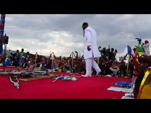 """LET IT RAIN - Mighty Prophet Dr. Owuor worshiping GOD-  August 28th Nakuru Revival 2016!"""