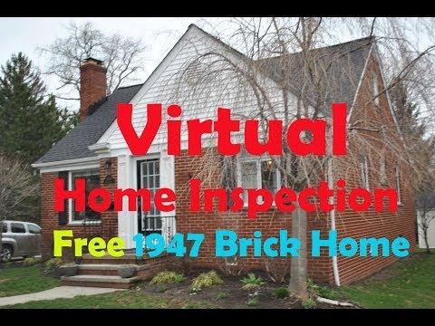 1948 Brick Home Inspection Inspector Marko Vovk