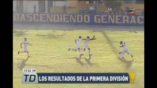 Los resultados de la Primera División del fútbol guatemalteco