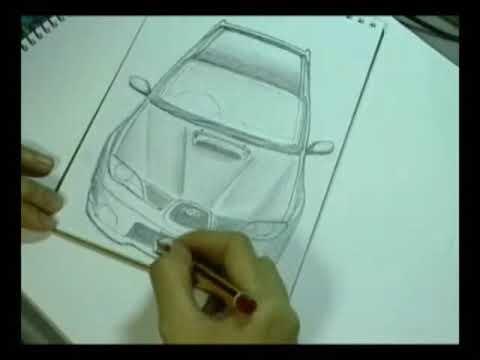 Subaru Impreza Pencil Sketch