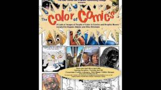 Kids Comic Con Founder, Alex Simmons (Color of Comics Exhibition) NYC, Senegal