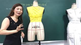 Hướng dẫn thiết kế quần âu nữ do Ths Trần Thanh Huyền thực hiện