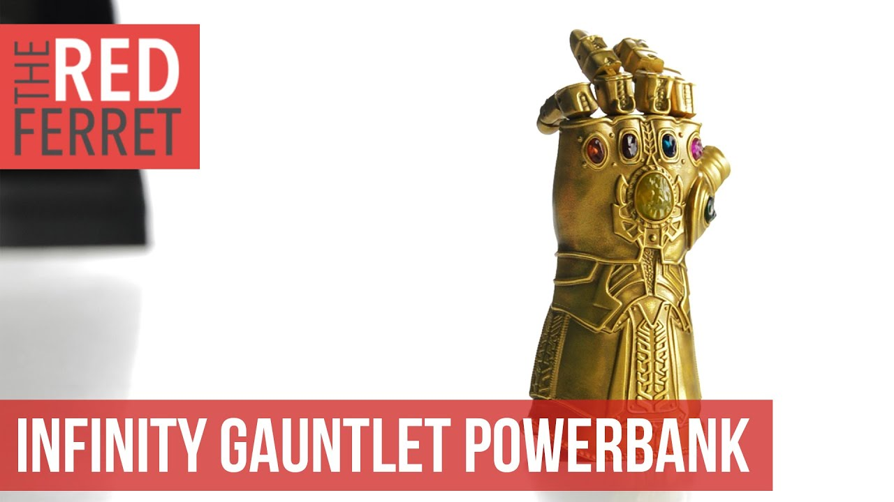 📱 Infinity Gauntlet Power Bank - Check This Out!
