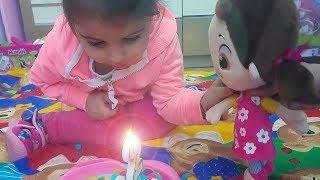 Niloya'nın Doğum Günü - Eylül ve Niloya Doğum Günü Pastası - Eğlenceli Çocuk Videosu - Tontik TV