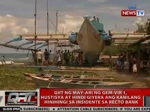 QRT: Giit ng may-ari ng Gem-Vir 1, hustisya at hindi giyera ang kanilang hinihingi ...