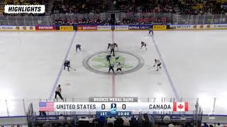 Bronze Medal Game Highlights United States Vs Canada May 20 2018