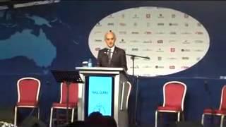 14th MUSIAD Fair , Mr  Nail Olpak's Speech, MUSIAD President 2012