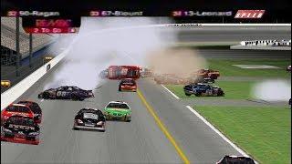 2005 ARCA Advance Discount Auto Parts 200 Finish | NR2003 Reenactment (No Video)