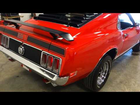 1970 Ford Mustang Mach 1 428 CJ, R Code, 4 Speed! LOW MILES & Documented! Matching #s!