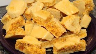 Making Sponge Toffee (Crunchie Bar) – Canadian Living Recipe
