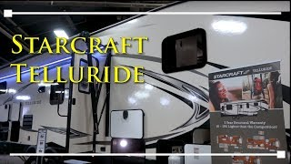 2018 Starcraft Telluride Fifth Wheel Travel Trailers - RVingPlanet.com First Look at New RV