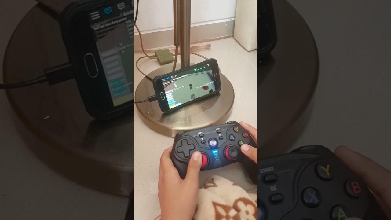 Pairing Gamepad Dobe Buat Hp Andoid Dan Iphone1 Youtube Android Ios