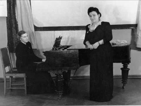 Дебора Пантофель-Нечецкая  Тирольская песня Shepherdess' Song  B.Godard