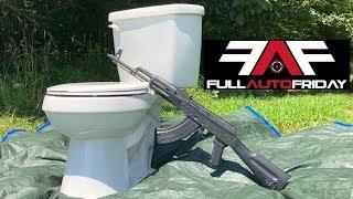 Full Auto Friday! AK-47 vs Toilet 🚽💩