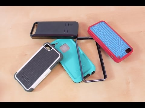 Top 5 BEST iPhone 5S 5C 5 Cases Review   Favorite Case   Protectors   Covers