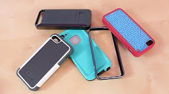 Top 5 BEST iPhone 5S 5C 5 Cases Review | Favorite Case | Protectors | Covers