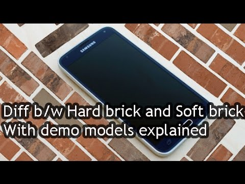 Difference between Hard brick and Soft brick devices {EXPLAINED}