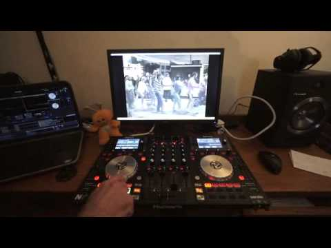 NUMARK NV DJ VJ TUTORIAL ADDING VIDEO WITH OTHER AUDIO