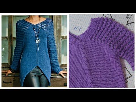 Вязать спицами женские пуловеры