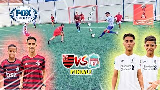 WORLD FINAL FLAMENGO vs LIVERPOOL GAME 5 vs 5 SOCCER CHALLENGES