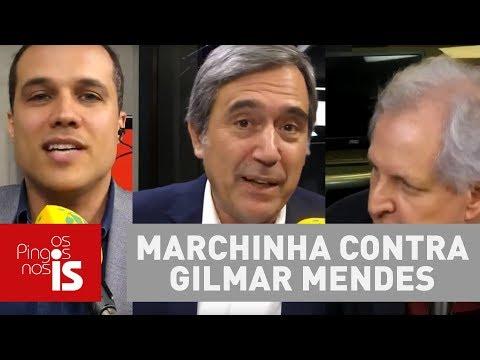 Debate: Felipe, Villa E Augusto Comentam Vídeo E Marchinha Contra Gilmar Mendes