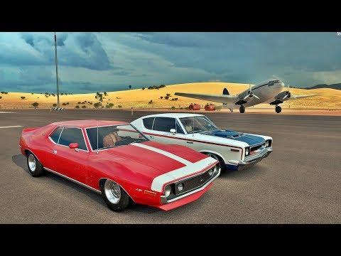 Tire As Crianças Da Sala 😱 AMC REBEL VS AMC JAVELIN - Forza Horizon 3 Online - ZOIOOGAMER