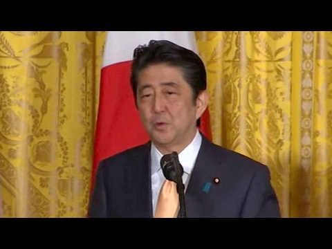 Abe tells Trump the rationale for TPP has not changed