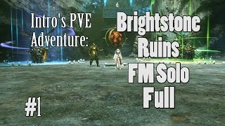 Blade & Soul - Force Master Solo - Full Brightstone Ruins