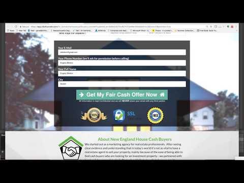 Real Estate Investors - Wholesaling Motivated Seller Leads Funnel Website - Clickfunnels