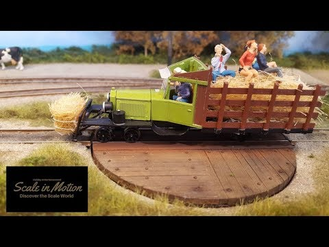 GREAT RAILROAD MODEL TRAINS DECORS IN MOTION - WEMFAL 2018 - Scale in Motion #04